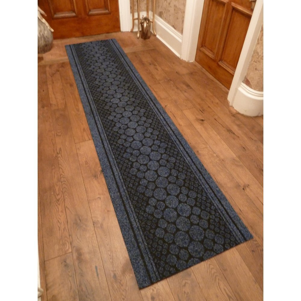 47 Sizes Available - Cork Blue - Sisal Style Carpet Runner Rug Door Mat - Any Length Runners for Hall, Hallways, Passage, Corridor, Kitchen, Caravans Carpet Runners UK Hallway Runners