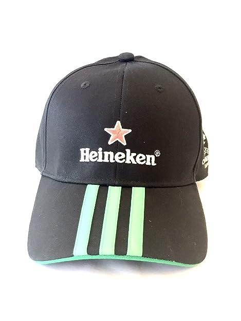 adidas Heineken cap Cappello Berretto da Baseball Champions League   Amazon.it  Scarpe e borse 0b2a9d141609