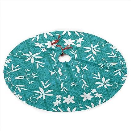 HDKOAJH Christmas Tree Skirts with 35 Inch Elvis Teal 150 Fabric (5630)  Pattern - Amazon.com: HDKOAJH Christmas Tree Skirts With 35 Inch Elvis Teal