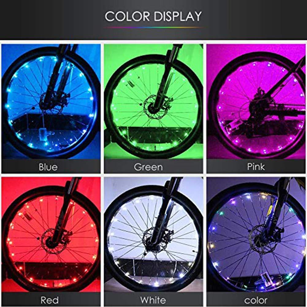 Safe Bicycle Mountain Bike Wheel Rim Spoke Warning Light Stripe Reflector HX