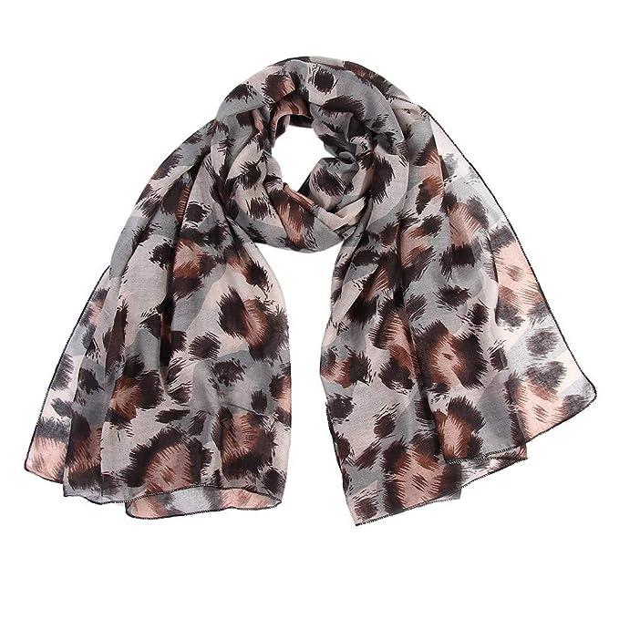 a6726479404 Clearance Sale !Women Ladies Scarf,Leopard Print Wrap Shawls ...