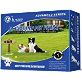 Underground Wired Pet Containment System (Advanced) - 100% Safe Invisible Electric Dog Fence - Includes In-Ground/Above Ground Wire for Easy Installation & 3-Modes Rechargeable & Waterproof Collar