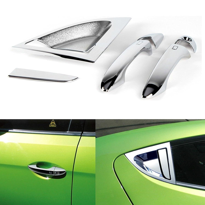 Cromado tirador de puerta/Catch Molding Trim Hyundai Veloster: Amazon.es: Coche y moto