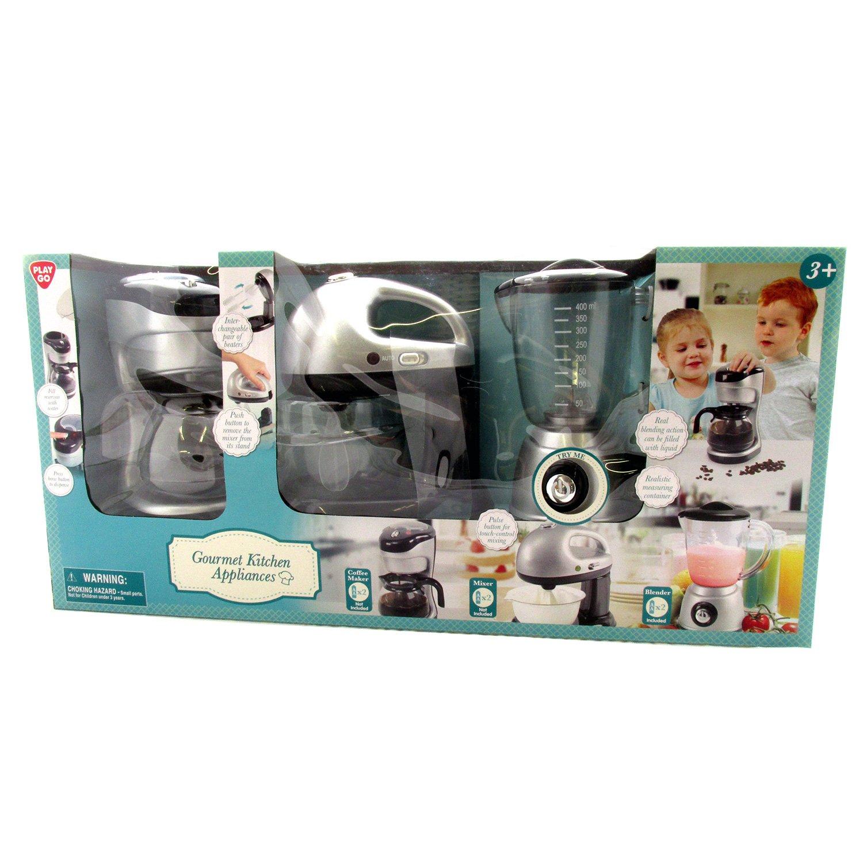 Amazon.com: Gourmet Kitchen Appliances by PlayGo: Toys & Games