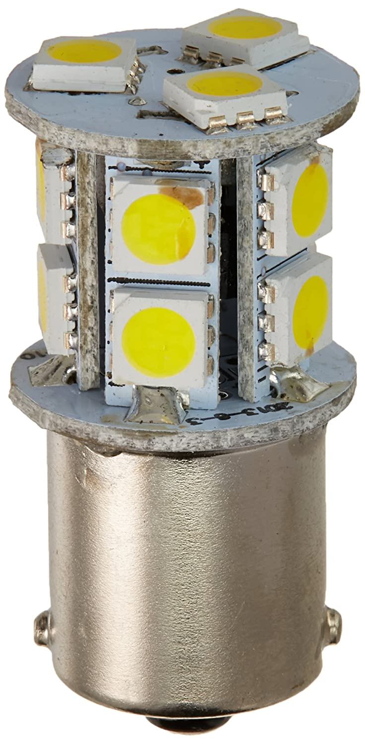 1003//1141 // 1156 Base 120 LUMS 12V or 24V -12W Gold Stars 11568301 Natural White LED Replacement Bulb