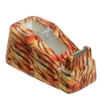 La oficina o el Wild Safari dispensador de con estampado Animal para Nochevieja cuchillo de patrones de costura para elección de cinta -!, color Tigre talla ...