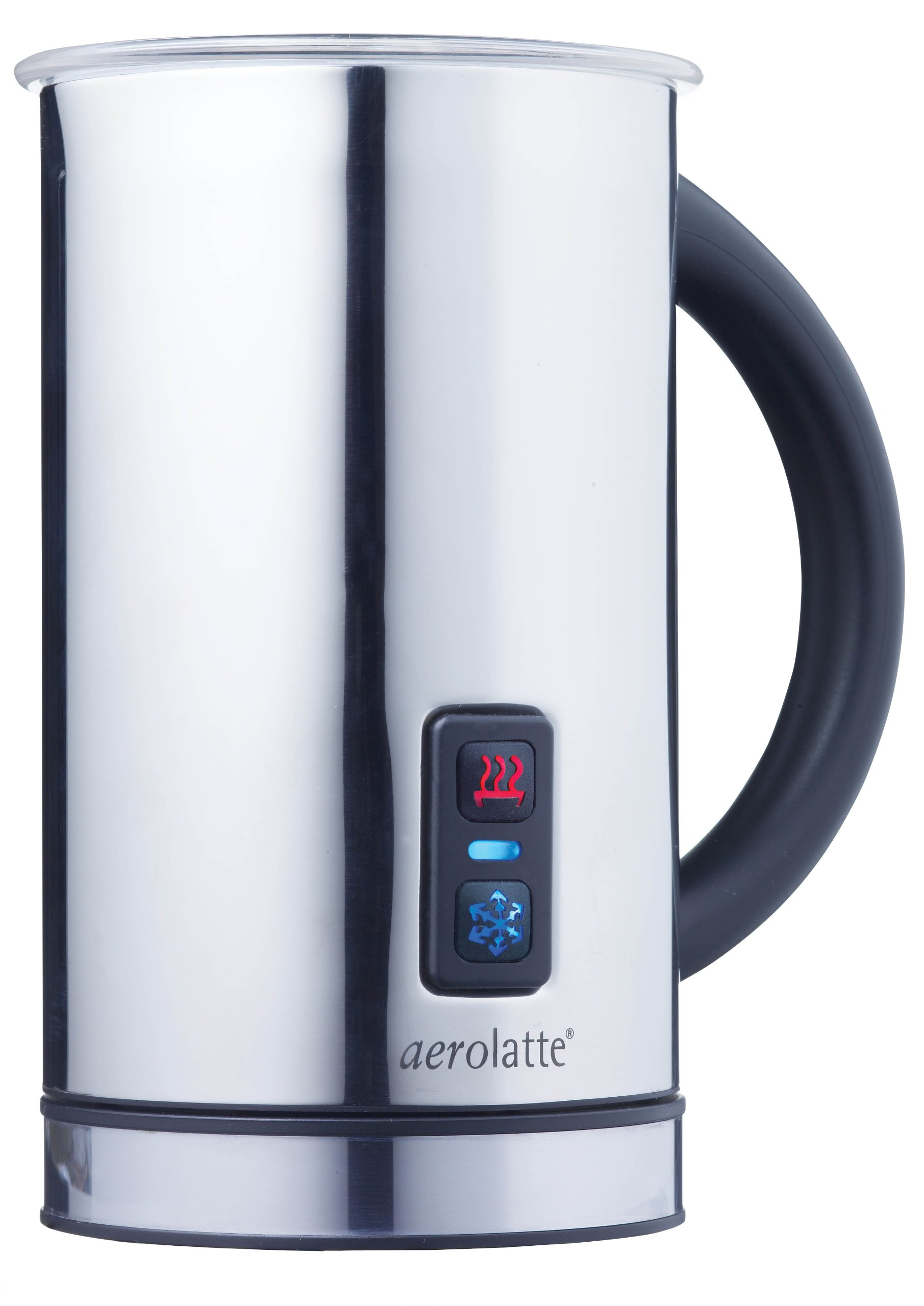 aerolatte Compact Automatic Hot or Cold Milk Frother and Cappuccino Foam Maker, Stainless Steel, 11.5-Ounce by aerolatte (Image #1)