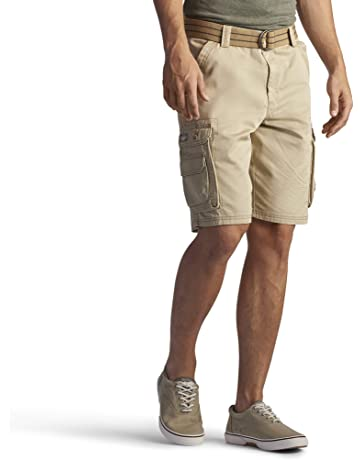 987c2b20c2 LEE Men's Big & Tall Dungarees New Belted Wyoming Cargo Short