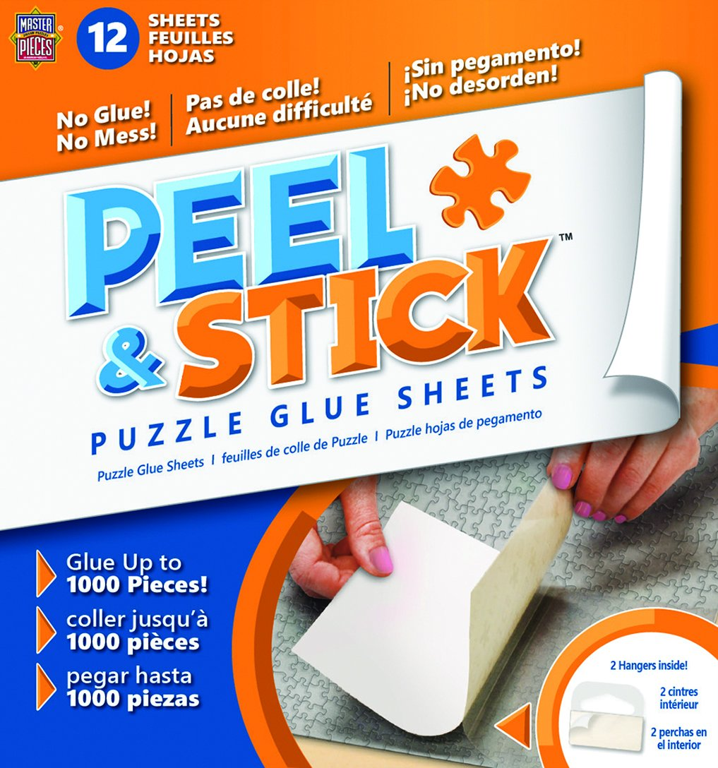 MasterPieces Glue Sheets Accessories