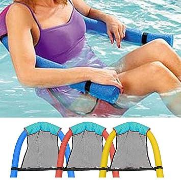 Amazon.com: RIBITENS - Silla flotante para piscina, suave ...