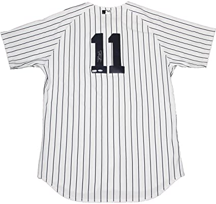 ... australia brett gardner signed authentic new york yankees home jersey  signed in back mlb 3d8ee 29afb 29e18533358