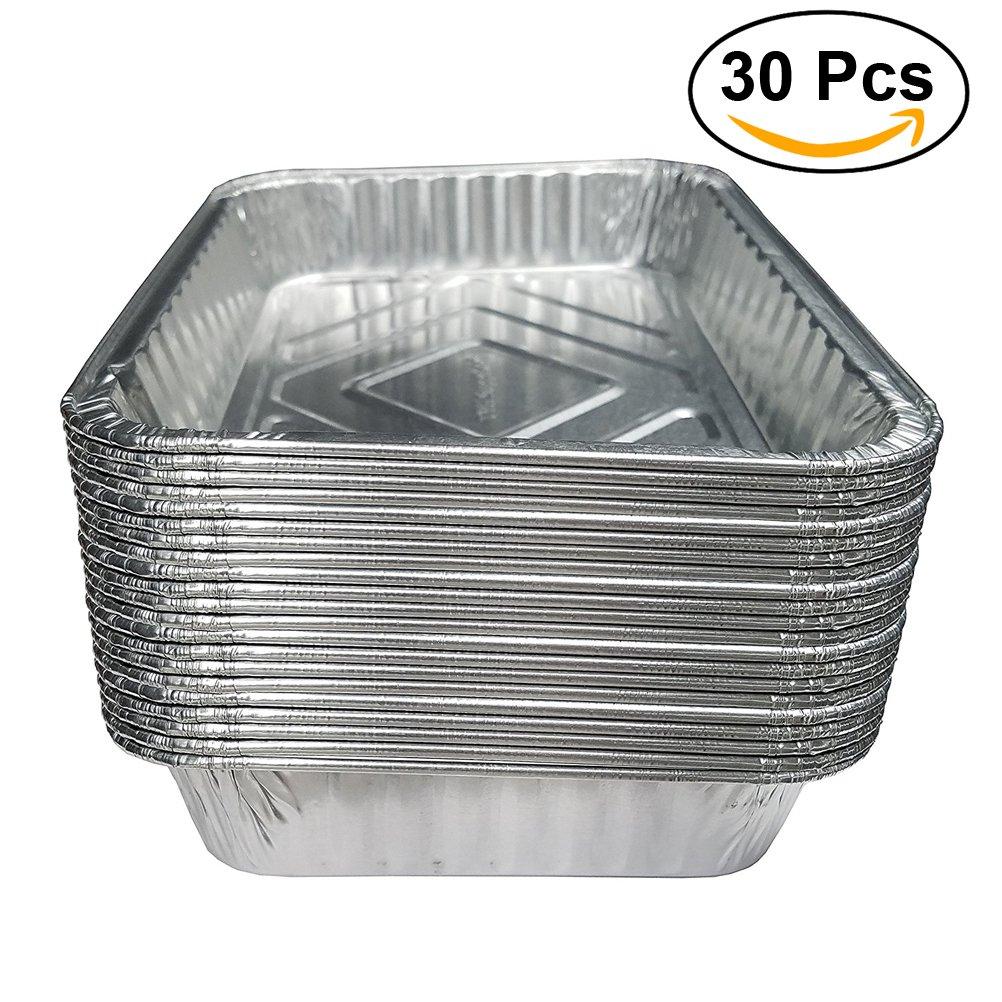 BESTOMZ Bandejas Aluminio Bandejas de Goteo para Barbacoas 570ml 30 Unidades: Amazon.es: Hogar
