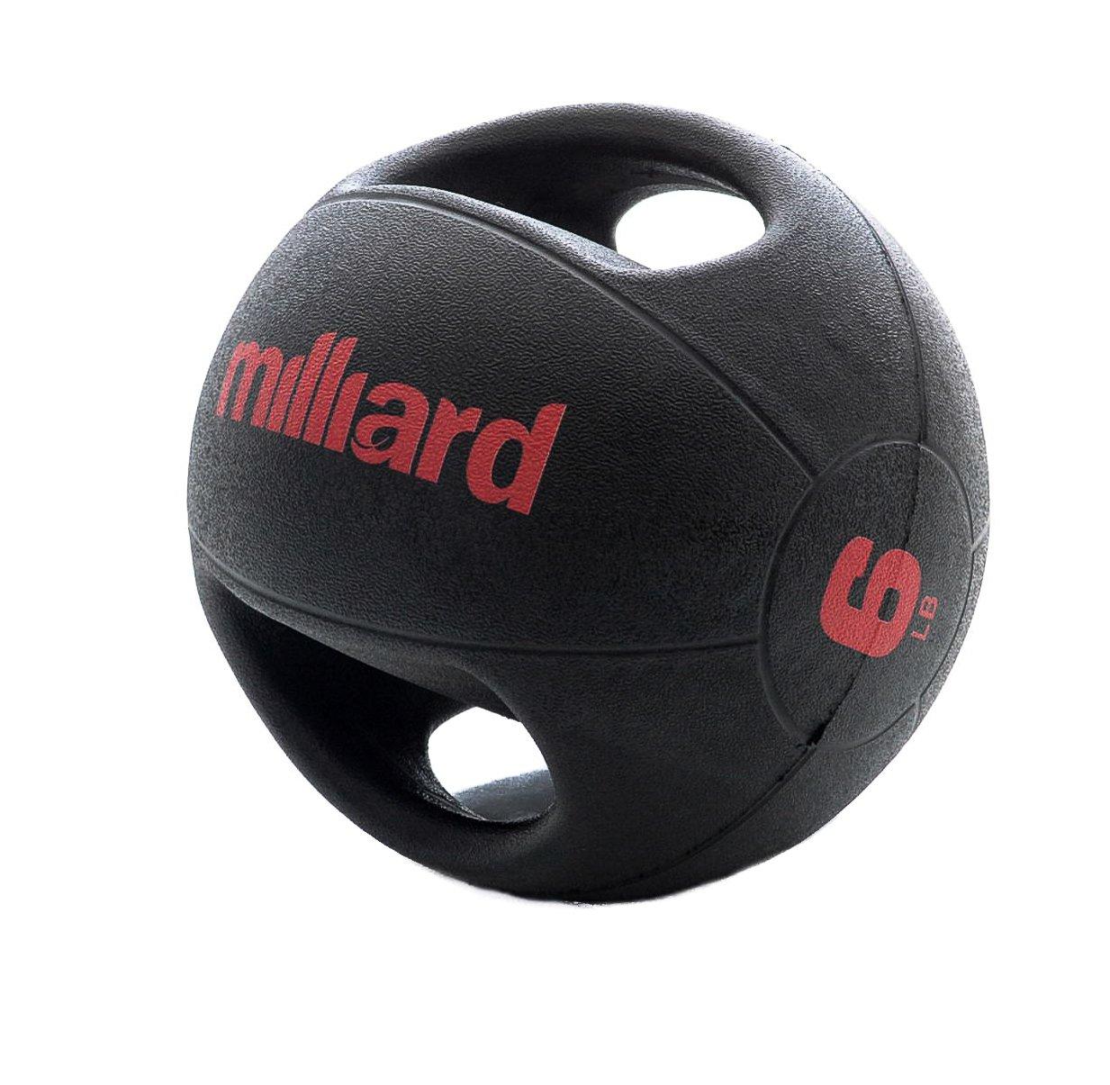 Milliard double-grip balón medicinal -2.5 kg/6LB.: Amazon.es ...