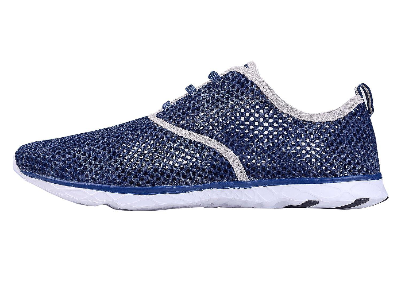 Chaussures aquatiques en maille respirante pour hommes - Séchage rapide - IceUnicorn - Bleu - bleu, 38 EU