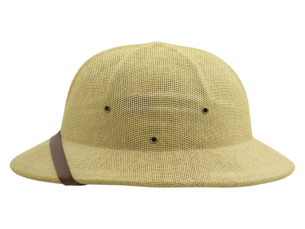 Dorfman Pacific Co Mens Fine Twisted Toyo Pith Helmet