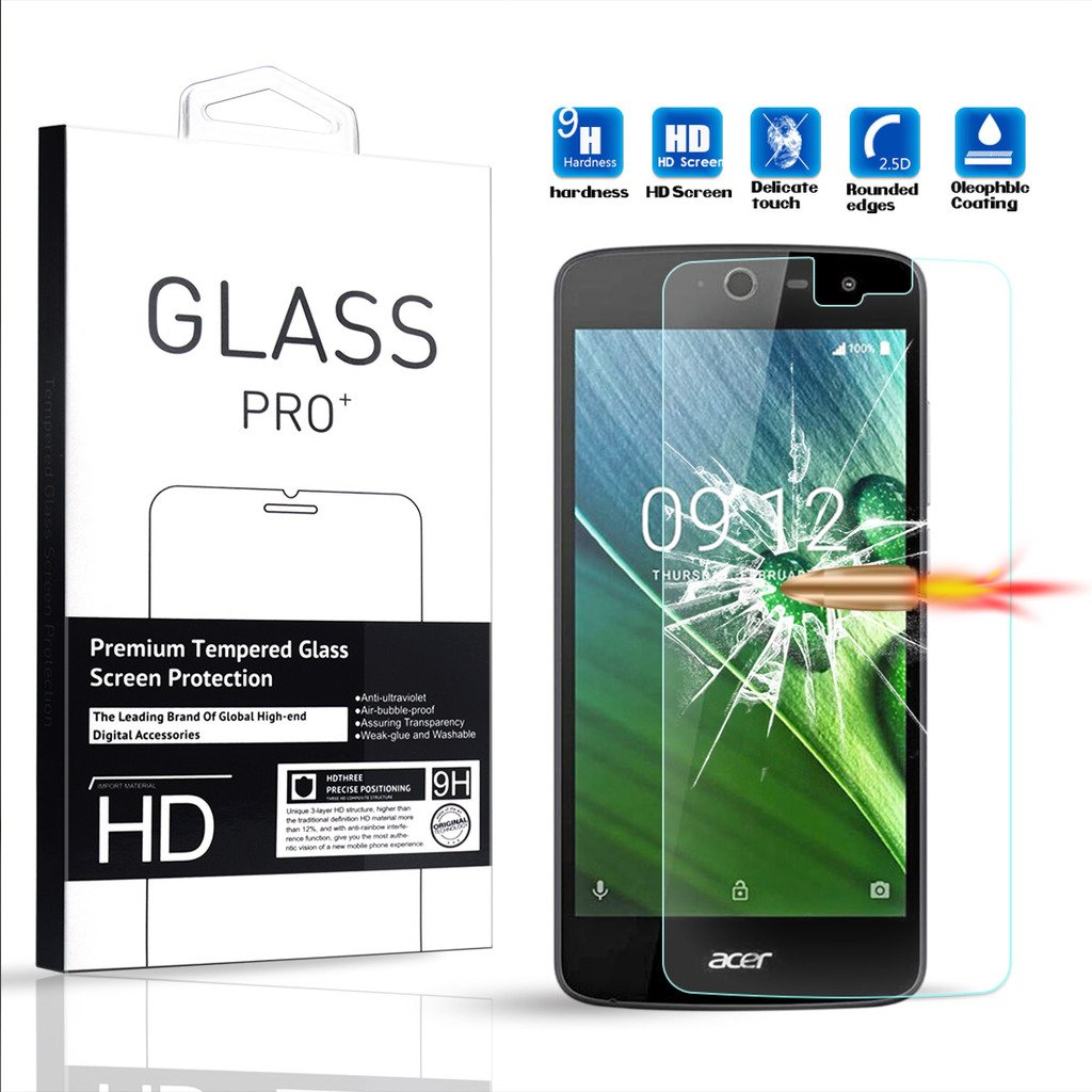 lovely For Acer Liquid Zest /For Acer Liquid Zest Z525 Tempered Glass Screen Protector - Amaxy