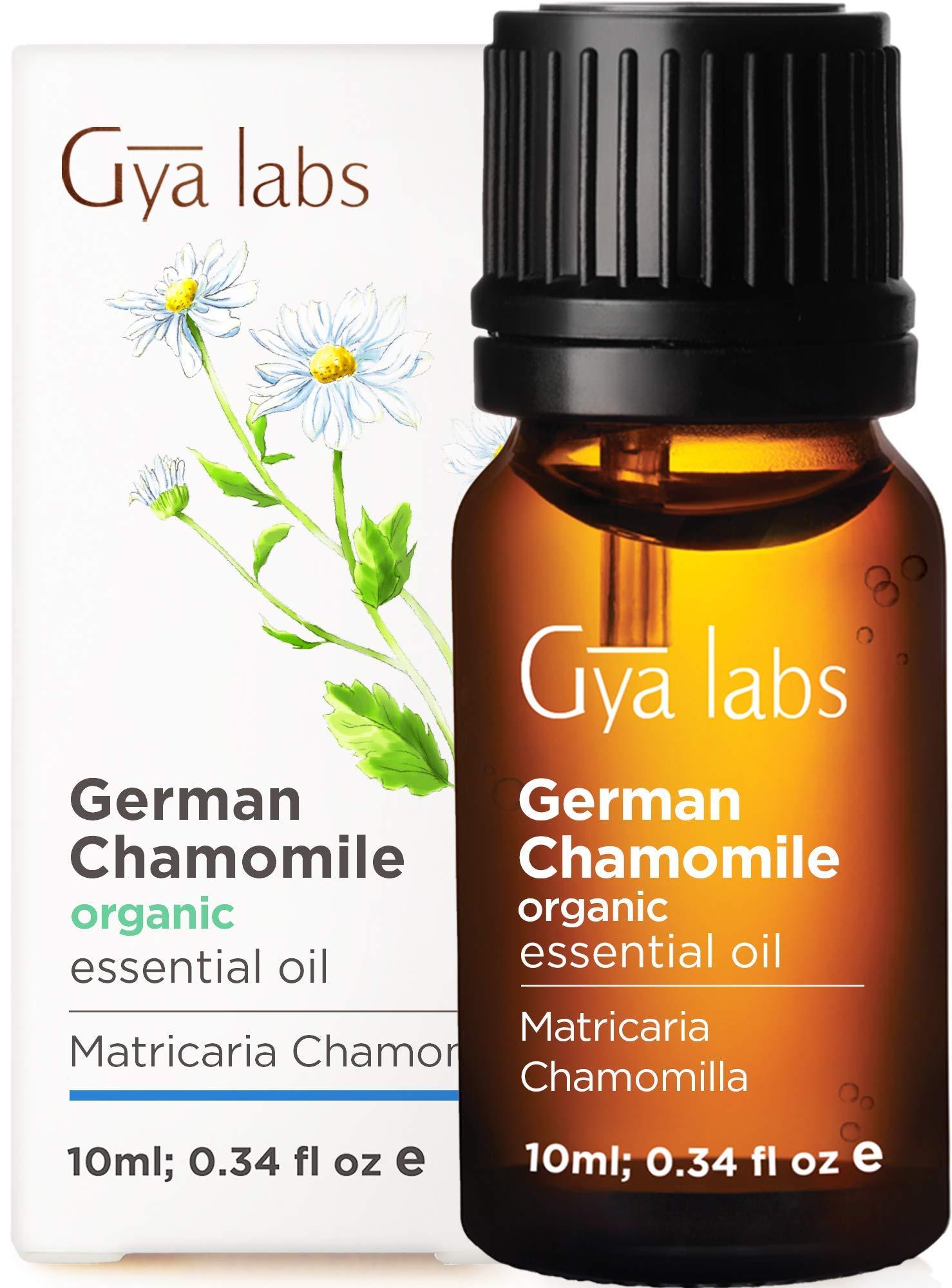 Gya Labs Organic German Chamomile Essential Oil