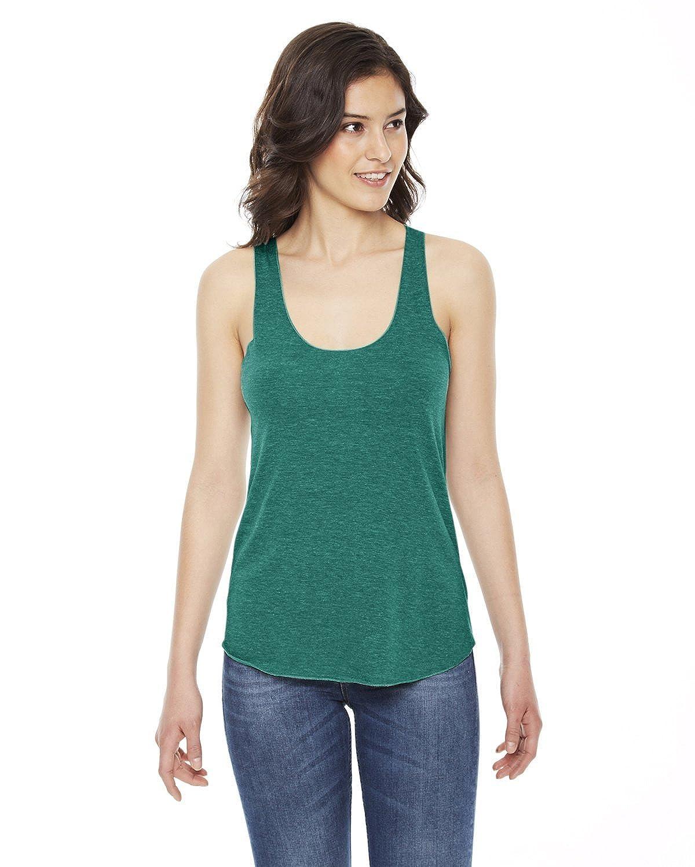 American Apparel Women's Tri-Blend Racerback Tank Shirt American Apparel Womens TR308