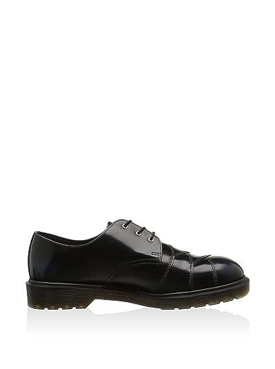 Para hombre Core Dr Stax Martens azul marino Arcadia zapatos de piel Premium e interior de, Blu Navy, 6 UK (Mens)