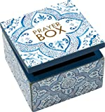 Primitives by Kathy Prayer Sign Box 4 Inches x 4 Inches x 2.75 Inches Home Décor Accents