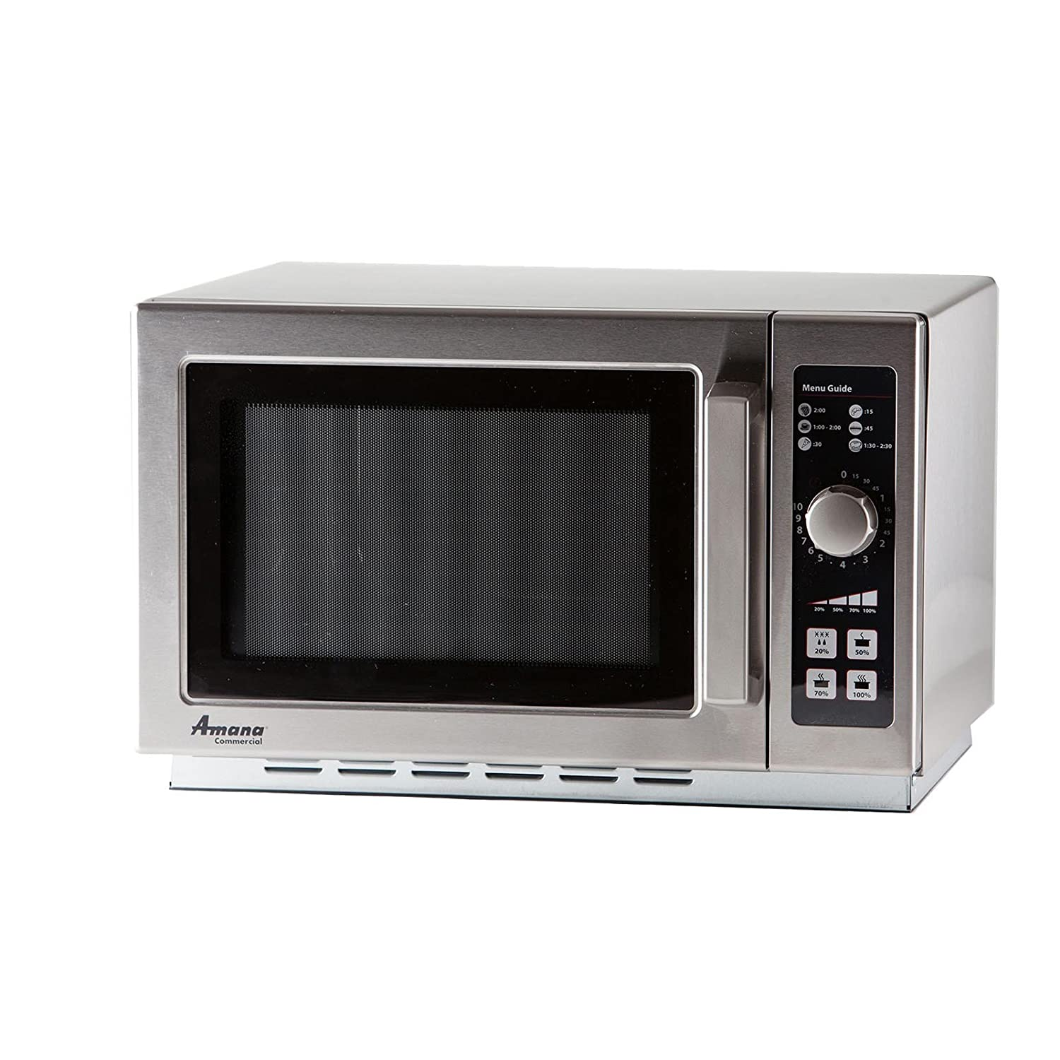 Amana RCS10DSE Medium-Duty Microwave Oven, 1000W