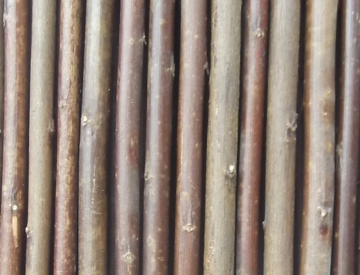 1m x 4m Long Garden Willow Screening Roll Outdoor Border Screen Fence Panel KD & Jay