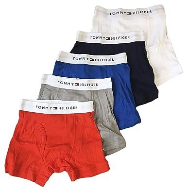 02c5accfd643 Amazon.com: Tommy Hilfiger Boy's Boxer brief Assorted Color, M, 8-10 ...