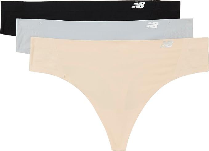 ad12da7c7da08 New Balance Women's NB Premium Mesh Thong 3-Pack