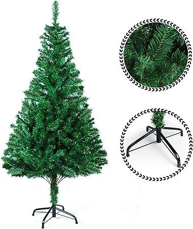 Sunjas Arbre De Noel Artificiel Sapin Artificiel Vert Blanc 120cm 210cm 200 700ramas Vert 210cm