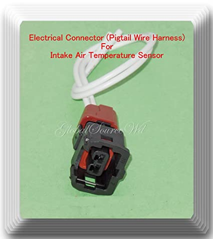 B18b Wire Harness, Electrical Connector Of Intake Air Temperature Sensor 0k2a B18 831 Ax55 Fits, B18b Wire Harness