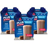 Atkins PLUS Protein-Packed Shake. Creamy Milk Chocolate with 30 Grams of High-Quality Protein. Keto-Friendly and Gluten…