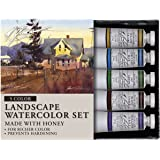 M. Graham Tube Watercolor Paint Landscape 5-Color Set, 1/2-Ounce