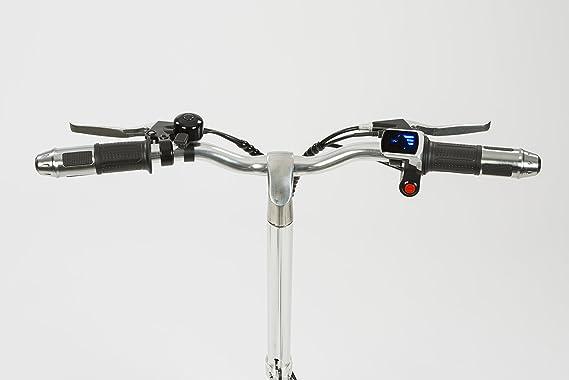 Urban e-motion Bicicleta electrica e-Bike Compact Negra 6000Ah: Amazon.es: Deportes y aire libre