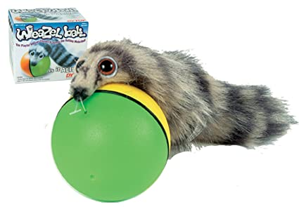 Battery Operated Reasonable Best Quality Original Weazel Weasel Ball For Cat Dog Pet Toy High Quality And Inexpensive