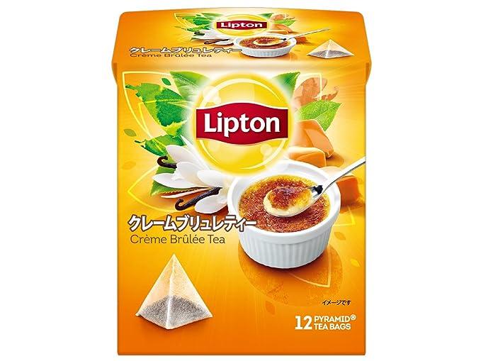 bolsa de te de te creme cajas de 12 bolsas X6 Lipton