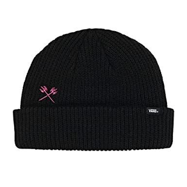 52c0c6b13f Vans Trujillo Beanie Hat Black  Amazon.co.uk  Clothing
