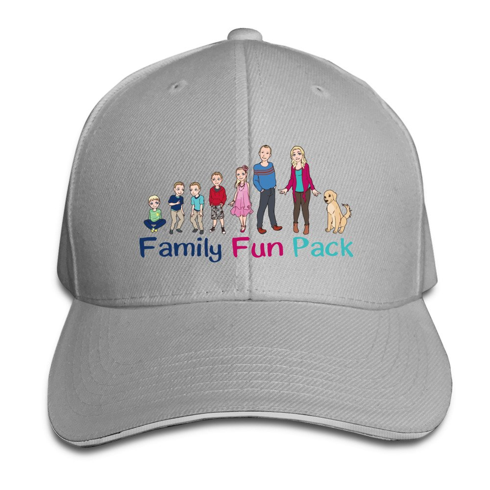 065287294 Amazon.com: Youtube Family Fun Pack Pink Unisex Sandwich Snapback Cap  Adjustable (6201904046475): Books