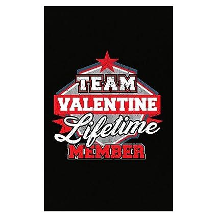 Amazon Com Team Valentine Lifetime Member Family Gift Poster