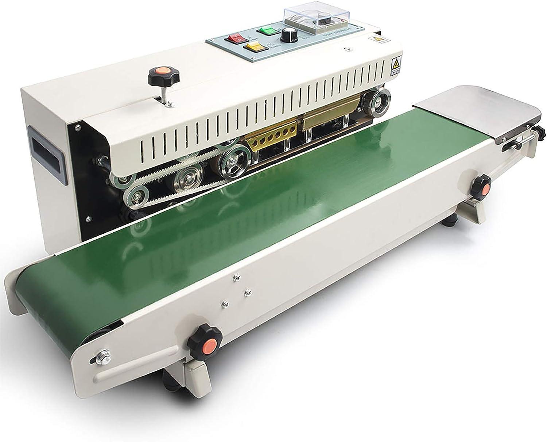 Amazon.com: Automatic Continuous Sealing Machine Food Sealer Horizontal Auto  Impulse Sealer Machine Plastic Sealer 110V(Horizontal): Kitchen & Dining