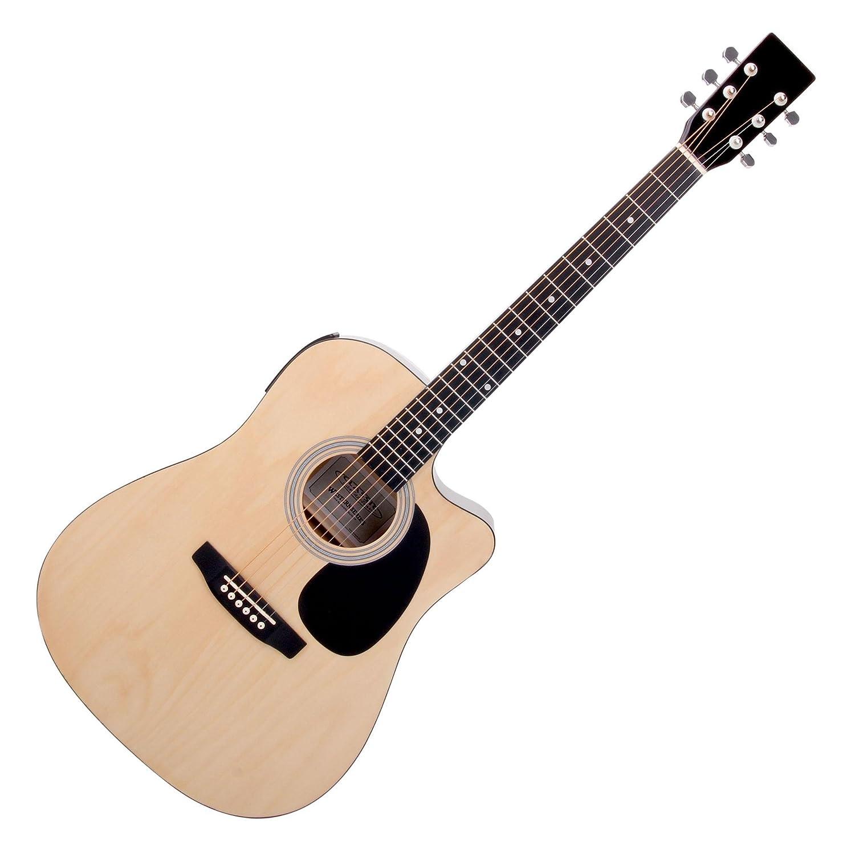 Classic Cantabile WS-10NAT guitarra acustica (estilo oeste) natural con fonocaptor: Amazon.es: Instrumentos musicales