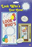 Look Who's Blank Door Cover Party Accessory (1 count) (1/Pkg)