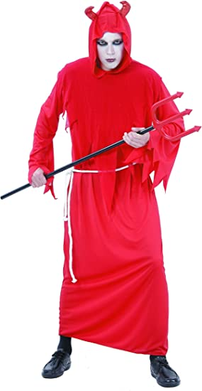 Disfraz de diablo para hombre, ideal para Halloween Talla única ...