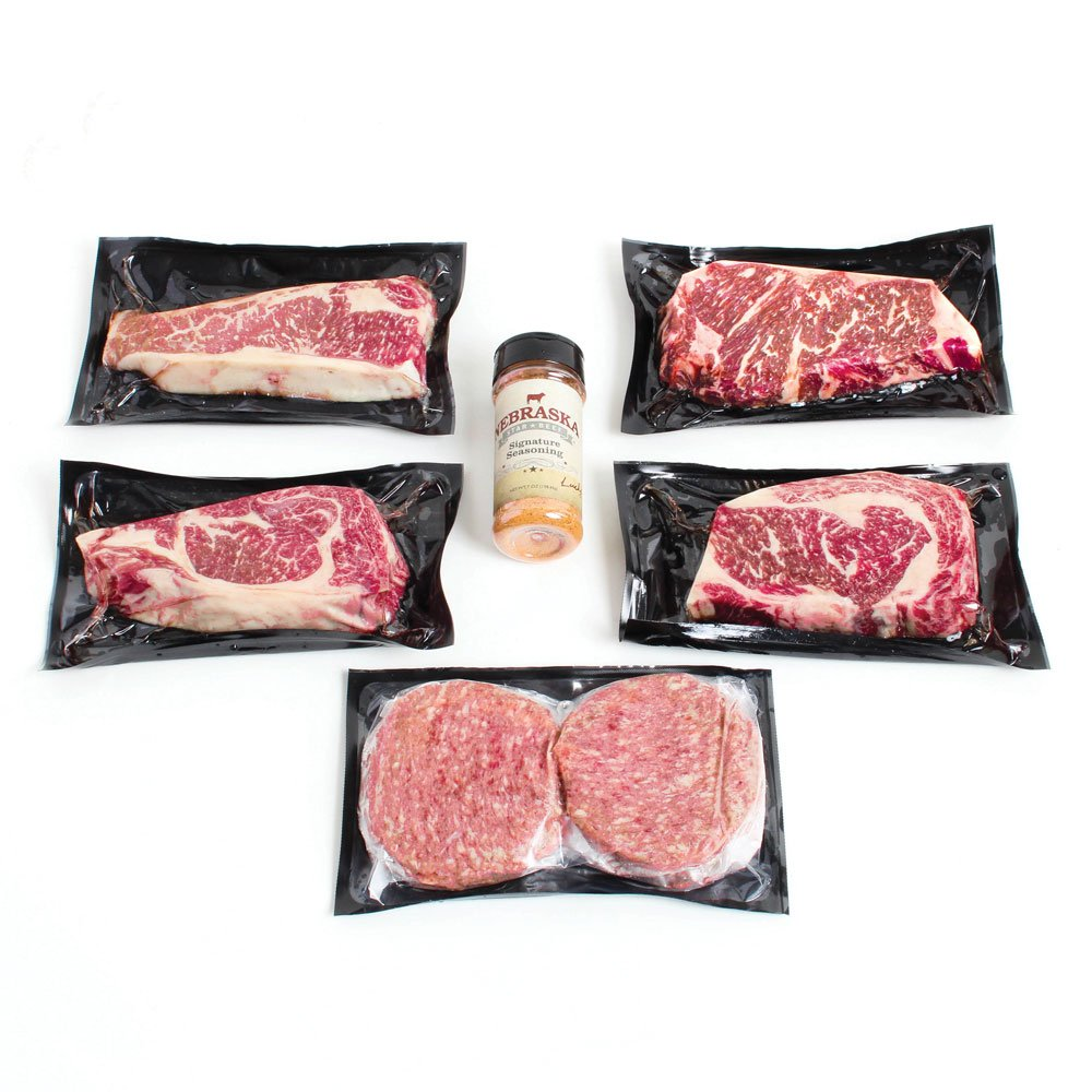 Nebraska Star Beef American Kobe Package, 4.58 Pound by Nebraska Star Beef