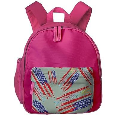 7688b1d1f4e9 American Grandpa Tie Dye Kids Toddler Backpack Fun Travel Bag ...
