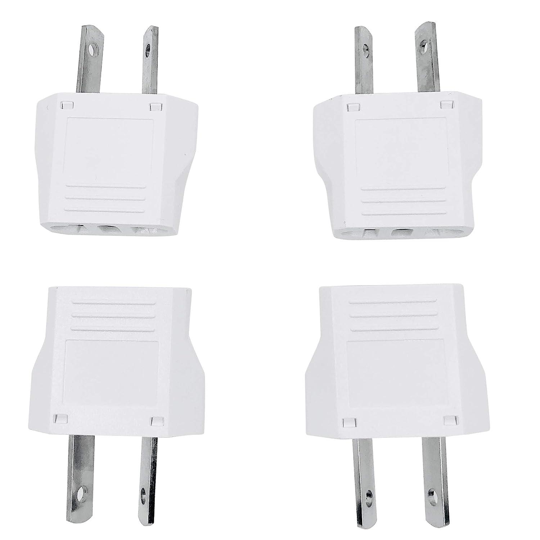 US EU to AU 4 piece AU//NZ power plug adapter converter Unidapt US to Australia Plug Adapter