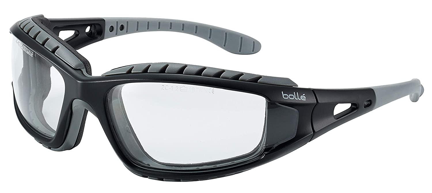 Bolle - Tracker Ii Safety Glasses/Specs Yellow Lens + Free Bag - Science Lab Glasses - Amazon.com