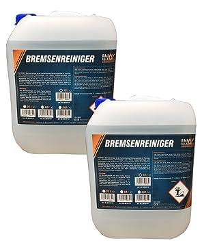 Inox freno limpiador 2 x 10 L, acentonfrei - Limpiador de freno para coche: Amazon.es: Coche y moto