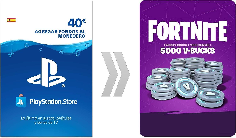 PSN Credito para Fortnite 5000 V-Bucks | Código de descarga PS4 ...