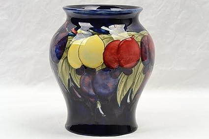 Moorcroft Pottery Vase, 1928-49 Blue Wisteria Plum Vase Artist