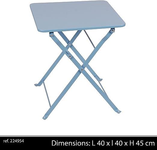 Table Pliante Carré Tempete Mistral Amazon Fr Jardin